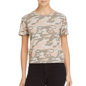 Monrow Dusty Pink Camouflage Shirt